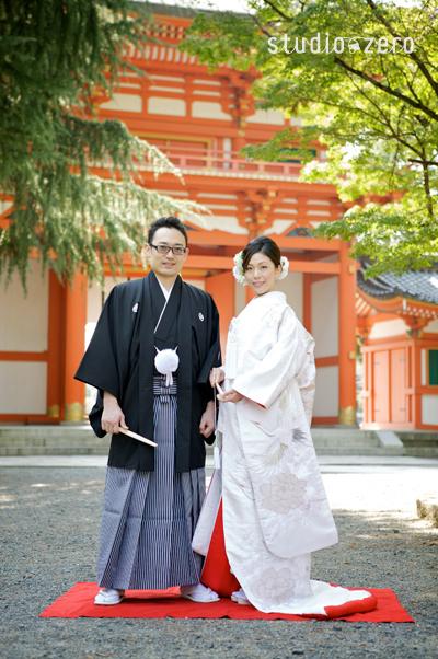 京都今宮神社での前撮り