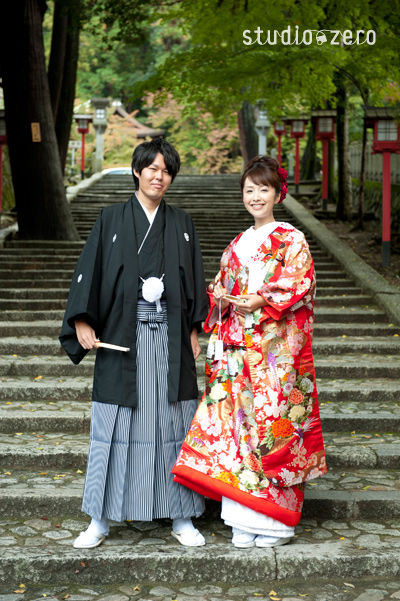 京都ロケーション 和装前撮り 色打掛 和装スタジオ前撮りblog