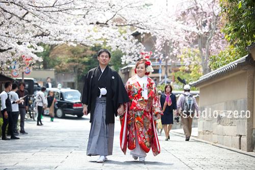 和装ロケーション前撮り 京都 05