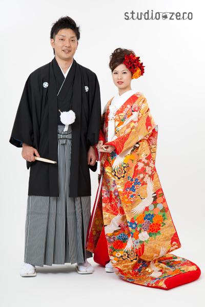 京都の和装前撮り フォトウエディングのスタジオゼロ